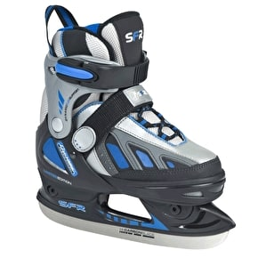 SFR Softboot Adjustable Ice Skates - Blue